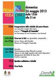 domenica 26 maggio 2013 - Comune di Bologna