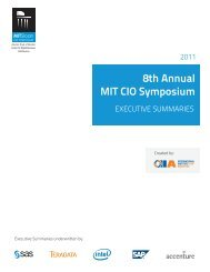 8th Annual MIT CIO Symposium - BullsEye Resources