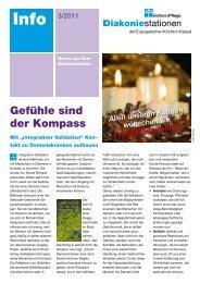 Infoblatt 3 2001 - Diakoniestationen Kassel