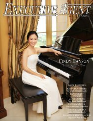 CINDY HANSON - Executive Agent Magazine
