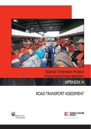 Appendix H - Road Transport Assessment