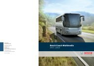 Bosch Coach Multimedia 2011 | 2012 - Bosch Automotive Technology
