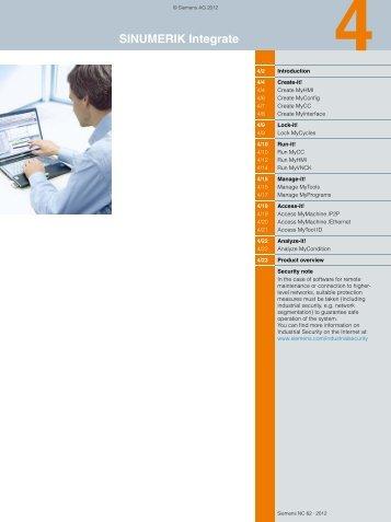 Catalog NC 62 · 2012 - Siemens