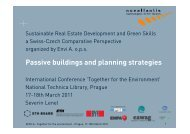 Passive buildings and planning strategies - Envi A