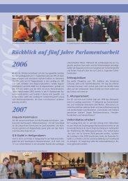 Rückblick auf fünf Jahre Parlamentsarbeit - Landtag Mecklenburg ...