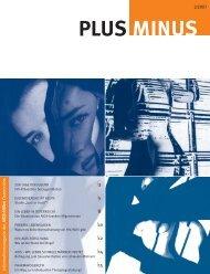 PlusMinus 2/07 - Die Aidshilfen Österreichs