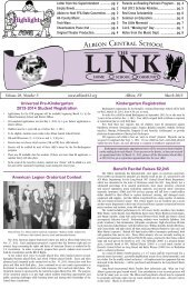 The LINK March 2013 - Albion Central School District