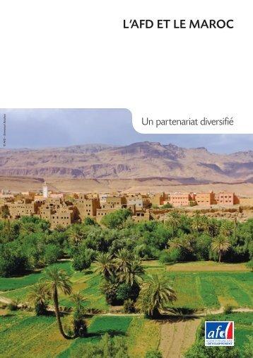 L'afd et Le maroc - Agence Française de Développement