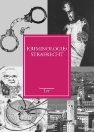 KRIMINOLOGIE/ STRAFRECHT