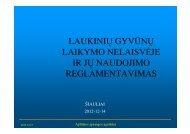 Seminaro medžiaga - Šiaulių RAAD