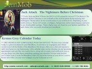 Jack Attack The Nightmare Before Christmas Kronos Grey ... - RunMob