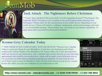 Jack Attack The Nightmare Before Christmas Kronos Grey ... - RunMob