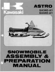 1977 Astro SA340-A1 - Vintage Snow
