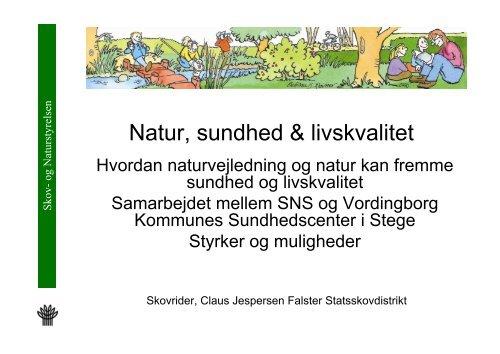 Oplæg, Claus Jespersen, Skov - Vordingborg Kommune