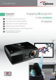 EX605ST - Optoma Europe