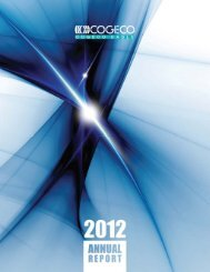 2012 Annual Report - Cogeco