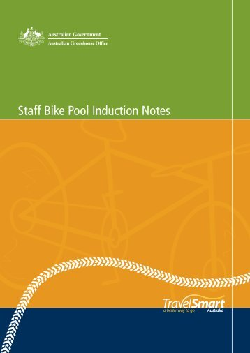 Staff Bike Pool - Induction Notes