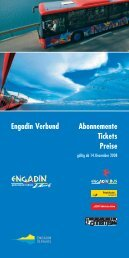 Engadin Verbund Abonnemente Tickets Preise - Kunstwege