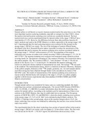 neutron scattering cross sections for natural carbon in the ... - UkrNDC