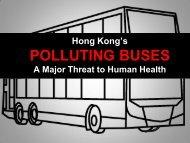 Hong Kong's Polluting Buses: Losing the Environmental Battle ...