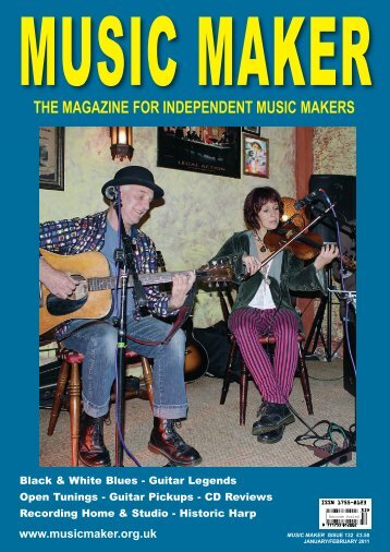 the magazine for independent music makers - The Music Maker Guide