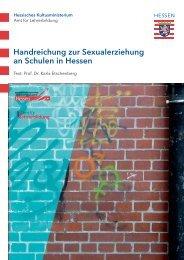 Handreichung zur Sexualerziehung an Schulen in Hessen