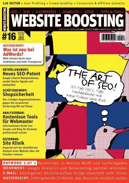 THE ART OF SEO! - Website Boosting
