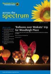 Spectrum Care Across the Spectrum Newsletter - Issue 79 Autumn ...