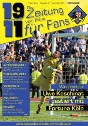 als PDF herunterladen - Dachverband Koblenzer Fanclubs eV