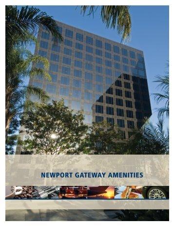 NEWPORT GATEWAY AMENITIES - IrvineCompanyOffice.com