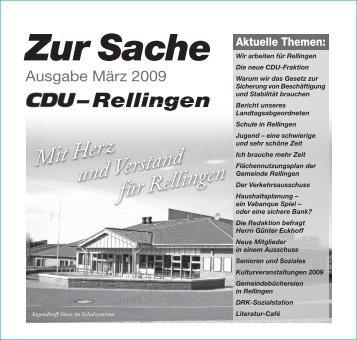 Zur Sache - CDU Rellingen