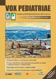 vox pediatriae 6/2009 - Dětský lékař