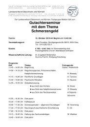 Gutachterseminar Graz - Österreichische Gesellschaft für ...