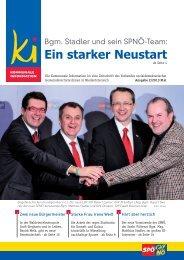 Ein starker Neustart - SPÖ Gemeindevertreterverband NÖ