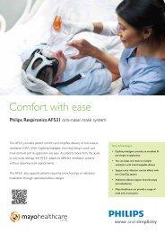 Respironics AF531 brochure - Mayo Healthcare