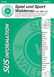 SUS Waldenau - Spiel und Sport Waldenau von 1947 eV