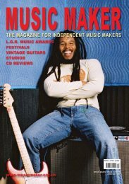magazine for independent music makers - The Music Maker Guide