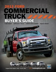 BUYER'S GUIDE - Ford Truck Commercial Connection