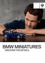 BMW Miniatures Brochure Download PDF (3 MB) - BMW South Africa