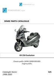 Piaggio X9 250 Evolution