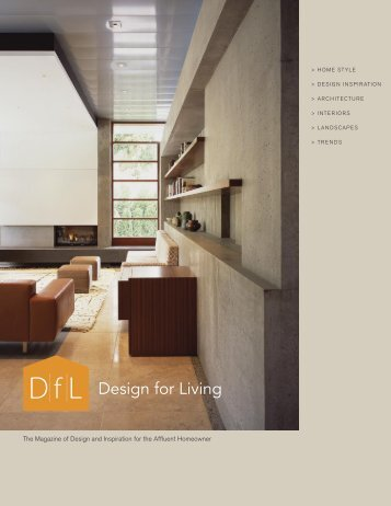 Design for Living - Diablo Magazine