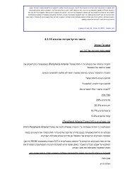 4.3.10 ות ועדכונים סקיר - איתמר מדיקל 1 י עמית