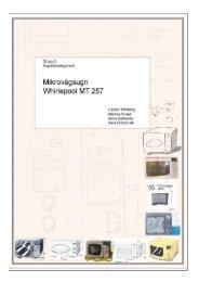 Mikrovågsugn - Certec