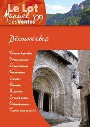 Découvertes - Comité départemental du tourisme du Lot
