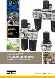Baureihe P3Y Druckluftaufbereitung - Siebert Hydraulik & Pneumatik
