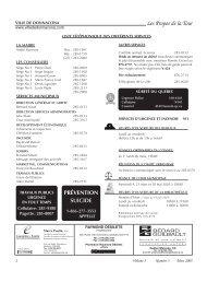Volume 3, Numéro 03, Mars 2005 - Ville de Donnacona
