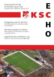 E H O KSC - punktum Marketing & Kommunikation in Dortmund