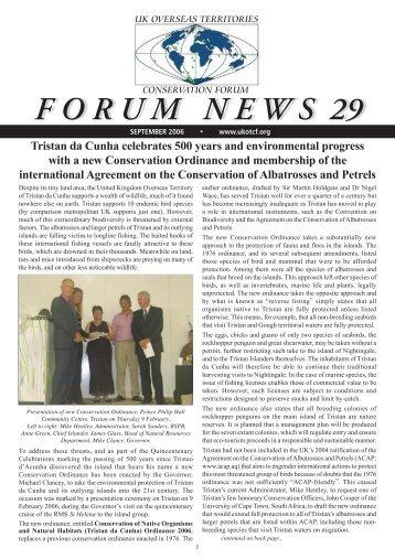 Forum News 29 - UKOTCF