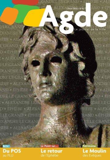 Journal de la Ville N°60 - Agde