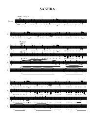 Sakura (Encore - partial) - Schola Cantorum on Hudson
